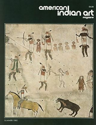 AMERICAN INDIAN ART MAGAZINE. Vol. 007, No. 3