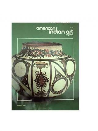 AMERICAN INDIAN ART MAGAZINE. Vol. 011, No. 2