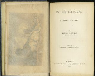 FIJI AND THE FIJIANS. T. Williams, J. Calvert