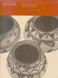 Auction Catalogue) AMERICAN INDIAN ART AND ETHNOGRAPHICA