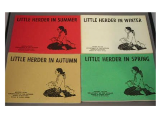 LITTLE HERDER IN SUMMER. A. Clark, H., Denetsosie, ills