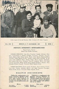 BOLETIN INDIGENISTA, Instituto Interamericano. Volume 1, No. 2 (1941), Volume 2, No. 1 (1942)...