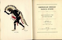 AMERICAN INDIAN DANCE STEPS. B. Evans, F. w. Hodge M g., intro