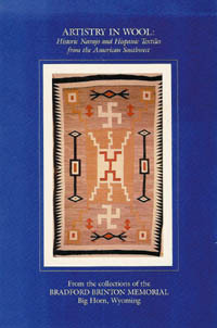 ARTISTRY IN WOOL. Historic Navajo and Hispanic Textiles from the American Southwest. S. Forrest