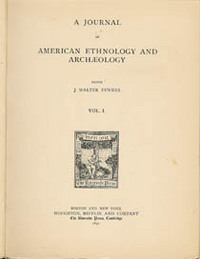 A JOURNAL OF AMERICAN ETHNOLOGY AND ARCHAEOLOGY. Hemenway Southwestern Archaeological Expediton...