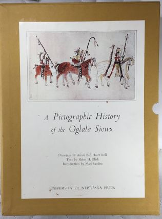 A PICTOGRAPHIC HISTORY OF THE OGLALA SIOUX. H. h. Blish, Amos Bad Heart Bull, M. Sandoz, intro.,...